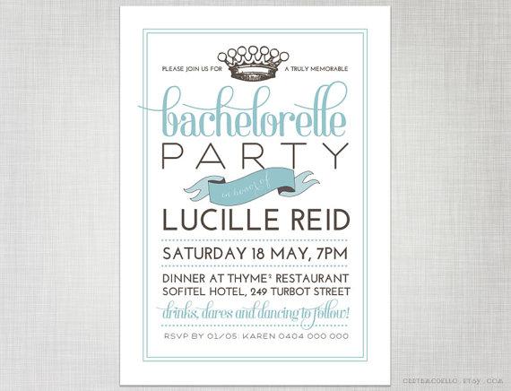 How to Plan a Bachelorette Party (via Emmaline Bride)