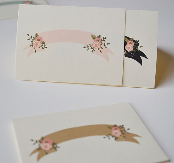 Handpainted Place Cards