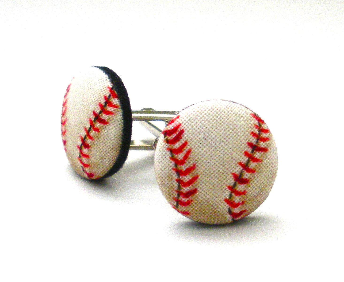 baseball cuff links from the heart by amber
