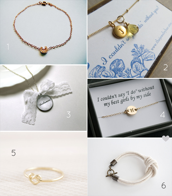 Be My Bridesmaid?  6 Creative Ways to Say It - jewelry