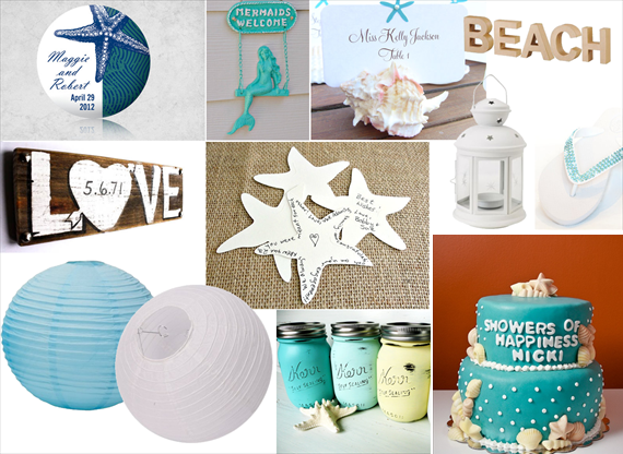 Beach Bridal Shower Ideas