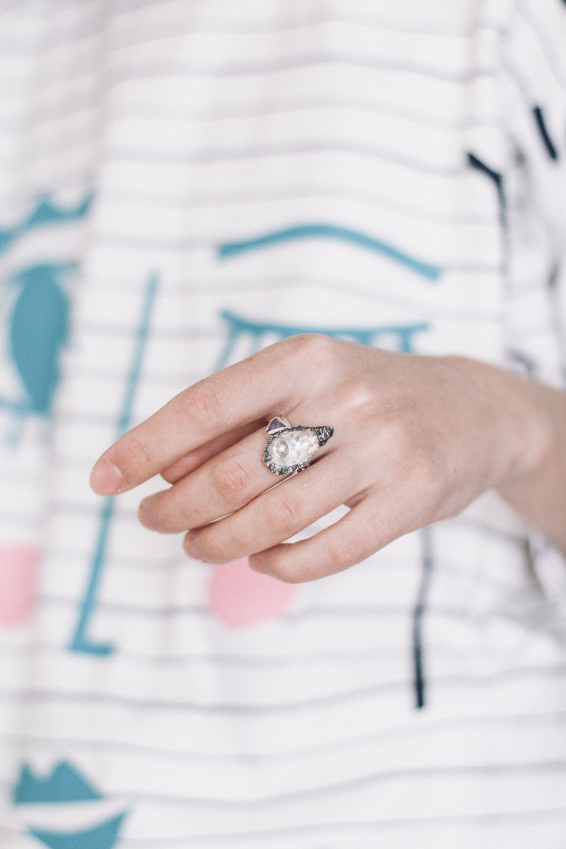 beach wedding rings | https://emmalinebride.com/bridesmaids/beach-wedding-rings/