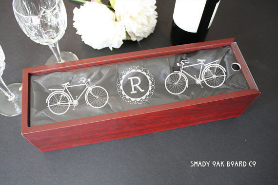 bicycle wine box
