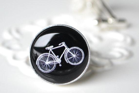 bike cufflinks