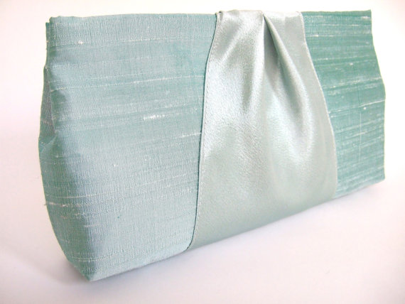 Ribbon Clutch Purses