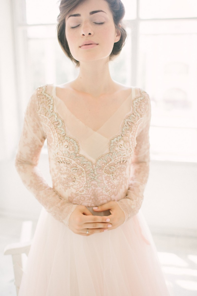 Stunning non white wedding dresses by Carousel Fashion