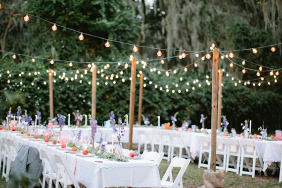 bohemian wedding reception via 9 Bohemian Wedding Ideas for your Free Spirited Side