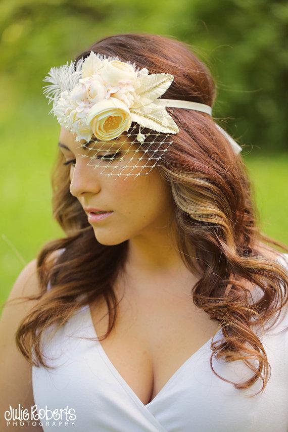 boho halo wedding halo headband by all for love by gina