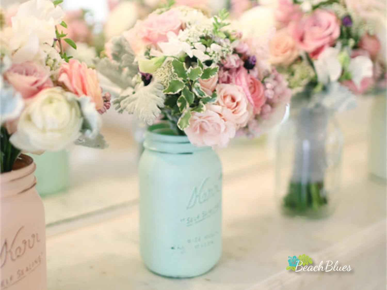 bouquet holder mason jar