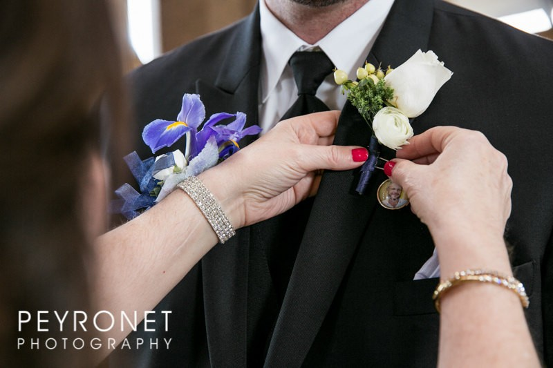 boutonniere charm | Handmade Wedding Charms via http://emmalinebride.com/decor/handmade-wedding-charms/