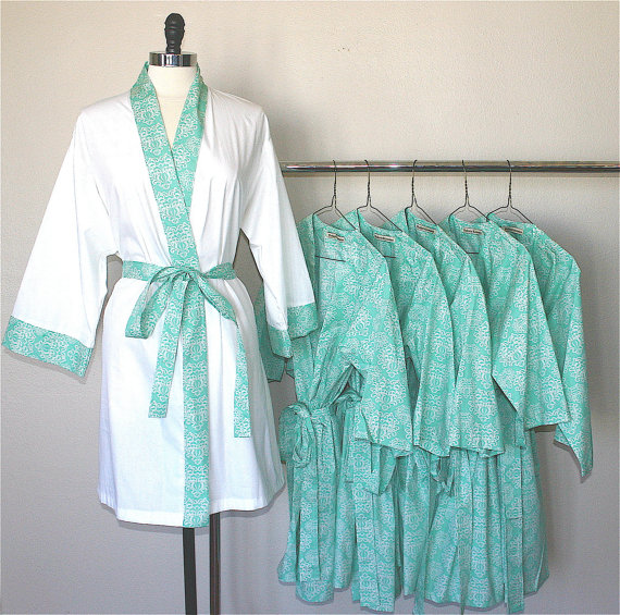 Getting Ready Robe (by Modern Kimono)