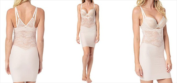 bridal lingerie shapewear via What to Wear Under the Dress