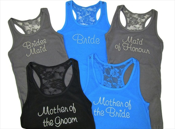 Bridal Party Tank Tops (by Girl ExtraOrdinaire)