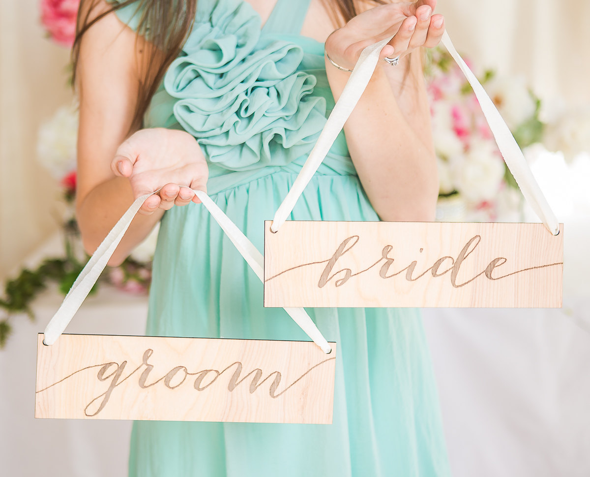 bride groom chair signs | via bride and groom chair signs https://emmalinebride.com/decor/bride-and-groom-chairs/