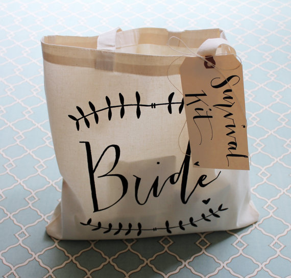 bride tote bag - Gift Ideas for the Bride