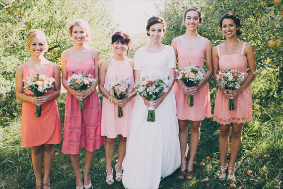 Bridesmaids (photo by Justin Battenfield)