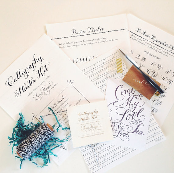 How to Calligraph:  Kits & Workshops