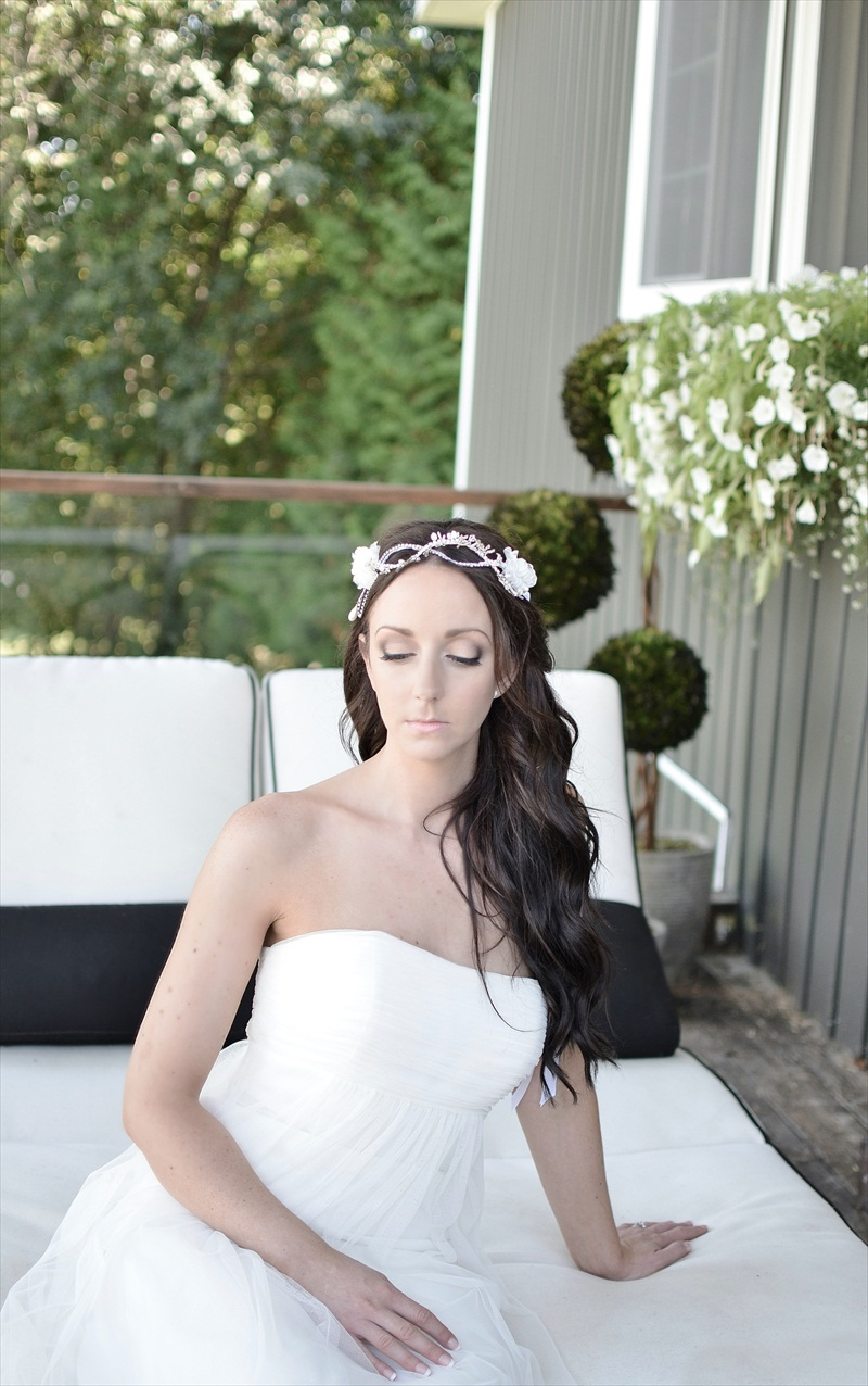 Boho Hair Accessories by J Arends Designs | photo: Glimpse Imaging