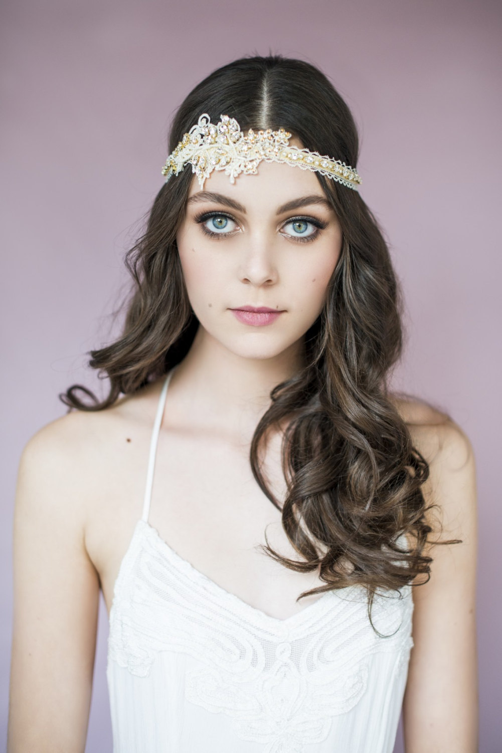 carolyn lace headband