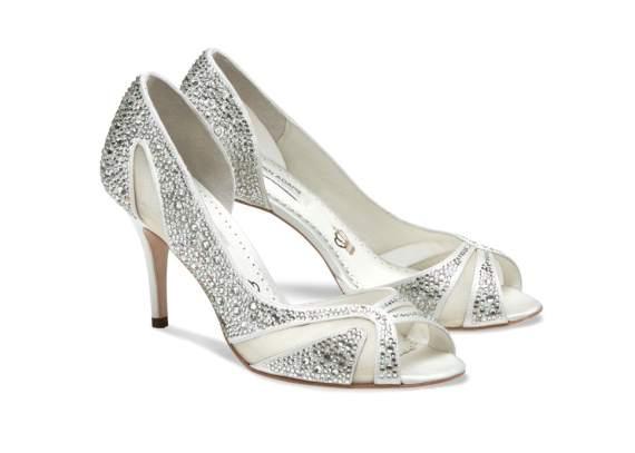 catherine bridal footwear heels with crystals