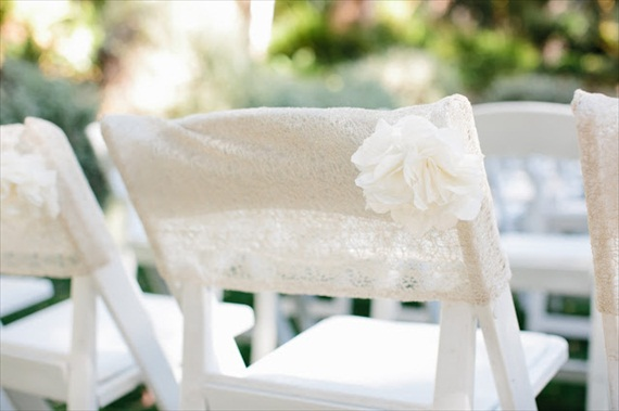 7 Stylish Wedding Chair Covers (photo: marianne wilson)