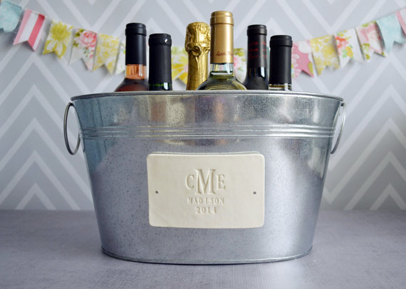 wedding gift ideas from a to z - champagne tub by susabella