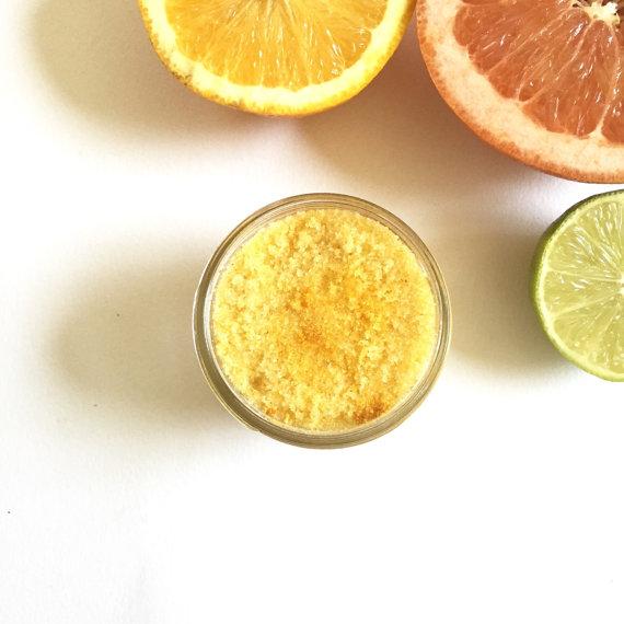 citrus bath scrub   bachelorette spa party http://emmalinebride.com/bachelorette/spa-party/