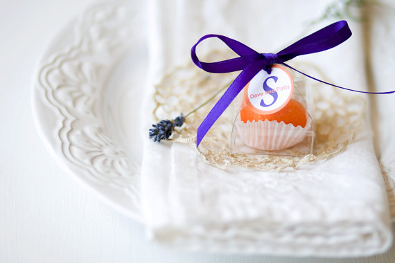 50 Best Bridal Shower Favor Ideas: cocktail drink sugar cube bridal shower favors (by dell cove spices)