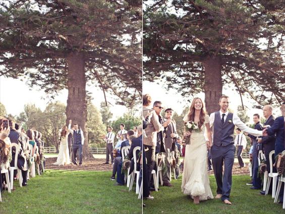 Emma + Josh - Christmas Themed Wedding