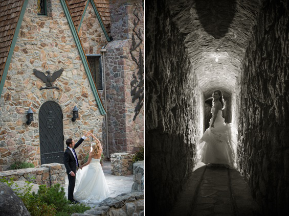 Johnstone Studios - thunderbird lodge wedding - bride and groom at stone lodge