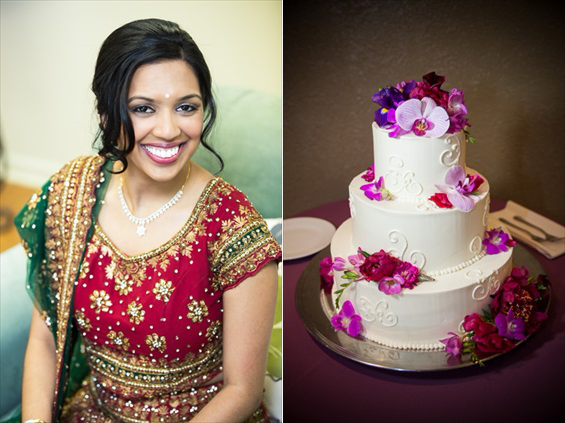 Daniel Fugaciu Photography - Indian bride and wedding cake