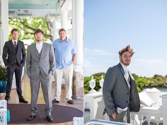 Filda Konec Photography - Hemingway House Wedding - groom, best man, and father