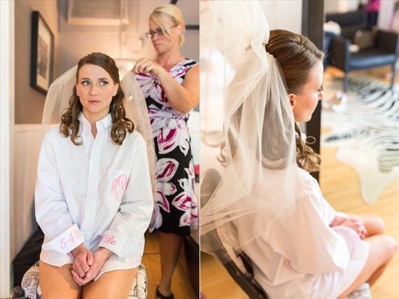 Filda Konec Photography - Hemingway House Wedding - bride getting ready for her Key West wedding