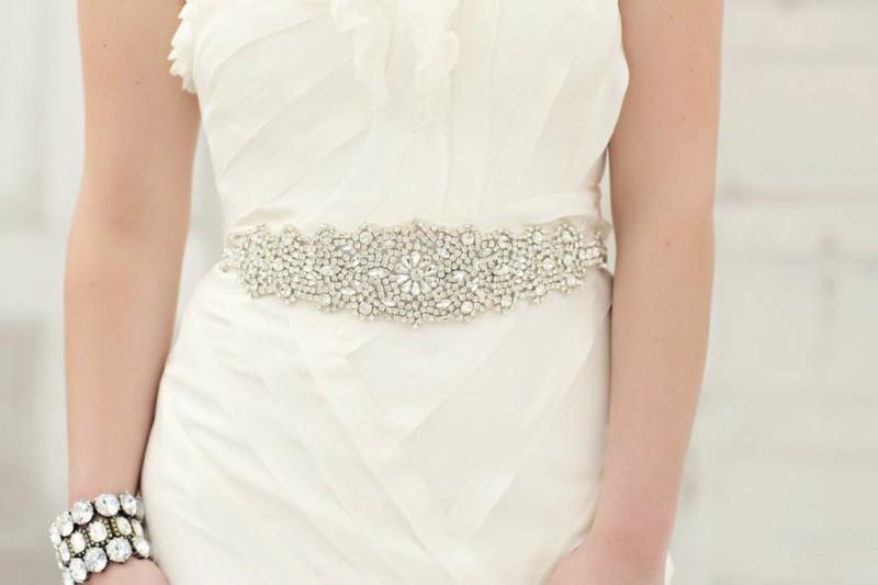 daisy dress sash by ashleighmalangoneny