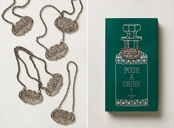 20 Valentines Day Gift Ideas - decanter tags