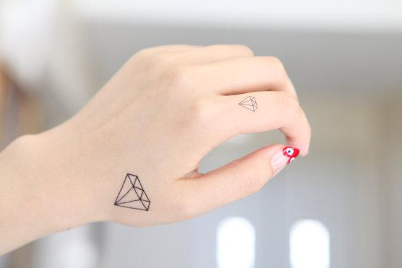 diamond temporary tattoos wedding