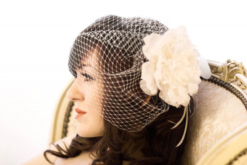 diy birdcage veil | Best DIY Wedding Projects via http://emmalinebride.com/decor/best-wedding-diy-projects/