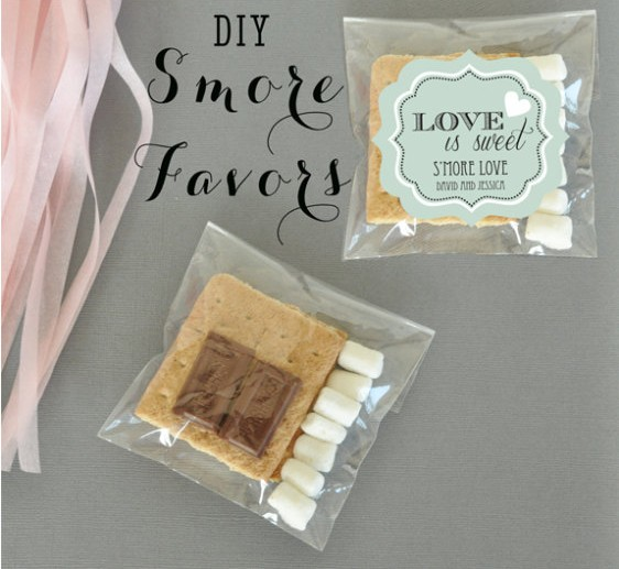 diy smore favors | Best DIY Wedding Projects via http://emmalinebride.com/decor/best-wedding-diy-projects/