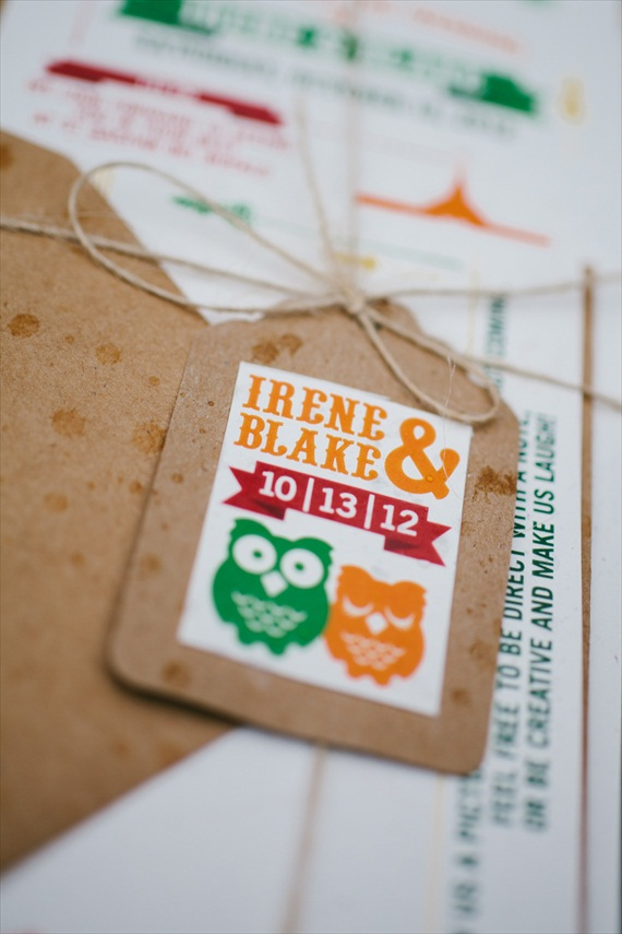 DIY Fall Wedding - Photo by Noelle Ann Photography - #diy #fall #wedding #tags