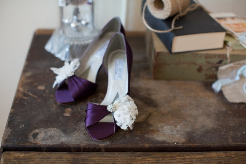 embellished wedding shoes by Becca & Louise