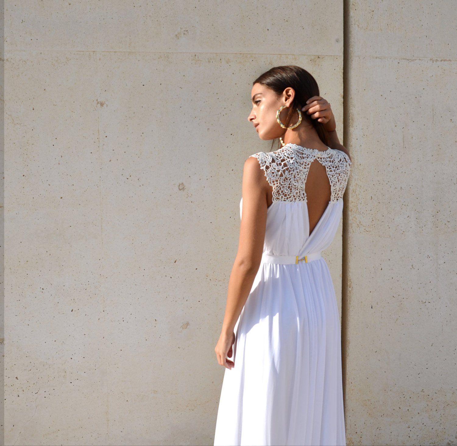 embroidered dress top | dresses boho weddings https://emmalinebride.com/bridal-gowns/dresses-boho-weddings/