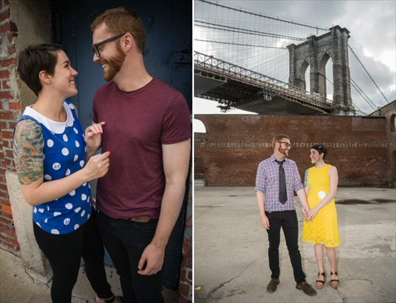 Brooklyn Engagement Session - Brye & Brad (photo: roger west)