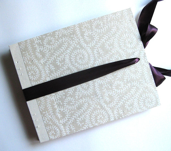 Envelope Guest Book (by Red Otter Creative via EmmalineBride.com) #handmade #wedding