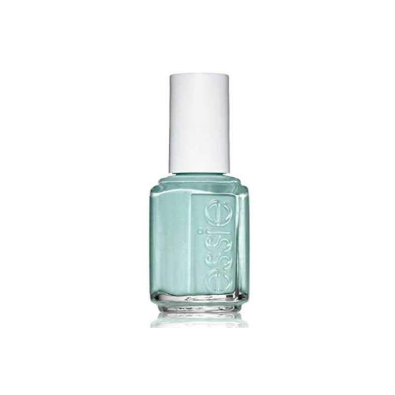 essie turquoise and caicos nail polish | Nail Polish Bridal Shower Favors | via https://emmalinebride.com/favors/nail-polish-bridal-shower-favors/ | cute idea!