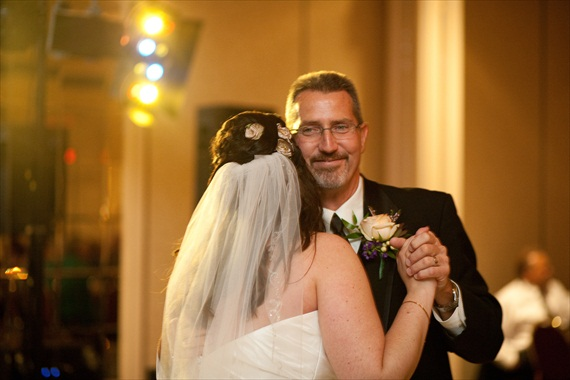 Fall Wedding - father daughter dance