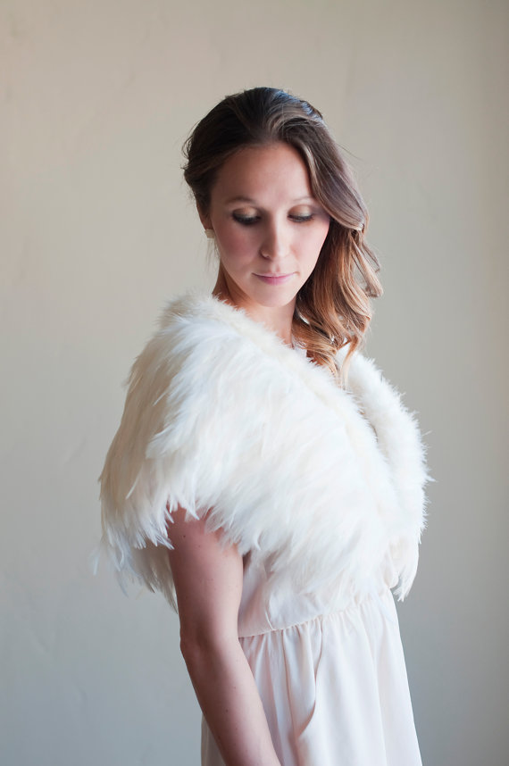 Feather Themed Wedding - feather wedding shawl by gilly gray