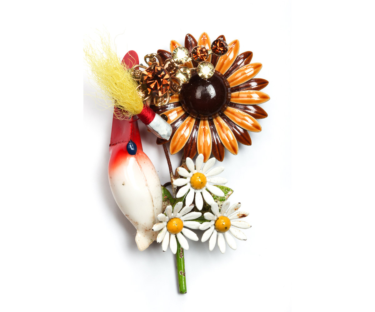 fishing boutonniere