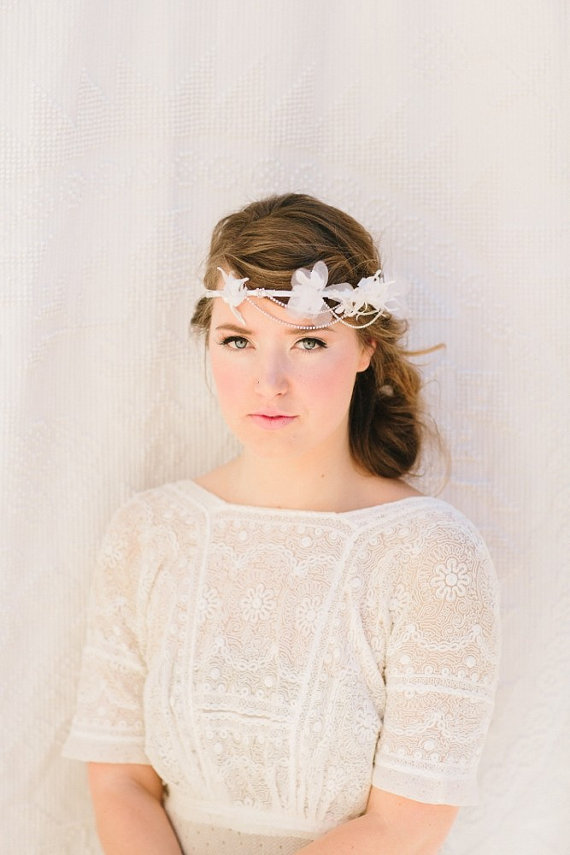 Wedding Halo Headbands & Crowns (headband: lo boheme)