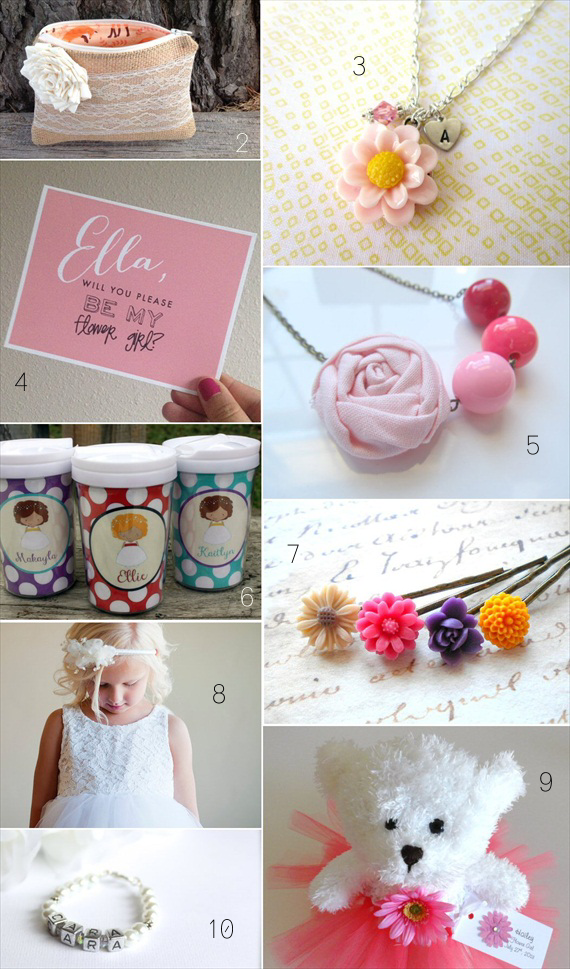 flower girl gifts