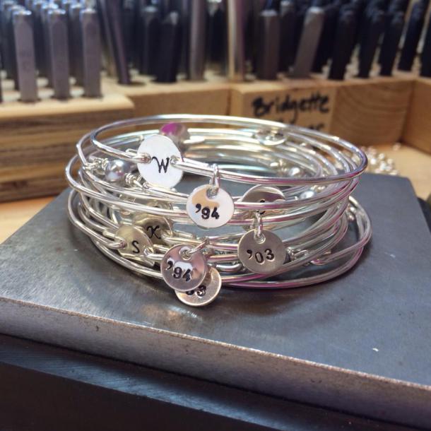friends since year bracelet